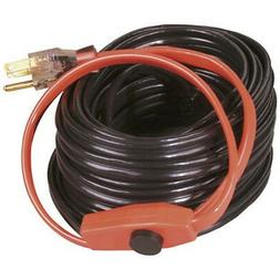 Electric Water Pipe Heat Cable Hose 80 FEET Metal Pipes Heat