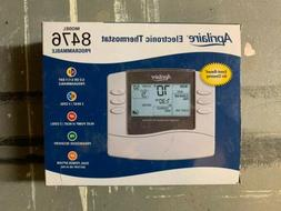electronic programmable thermostat model 8476