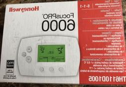 Honeywell FocusPro 6000 Programmable Thermostat TH6110D1005
