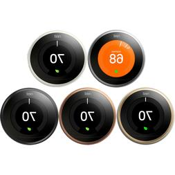 google learning thermostat smart wifi 3rd generation