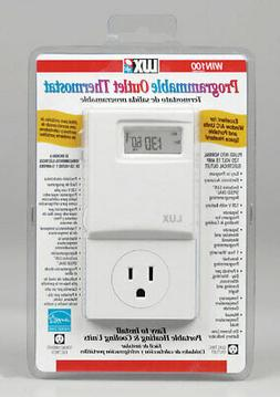 Lux  Heating and Cooling  Touch Screen  Programmable Outlet