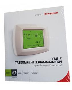 Honeywell Home 7-Day Programmable Thermostat Touchscreen Dis