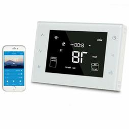 Home Smart WiFi 7 Day Programmable Multistage Thermostat Com