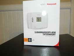 Honeywell home thermostat non-programmable