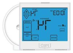 PRO1 IAQ T955WH Thermostat, 7 Day Programmable, Stages 3 Hea