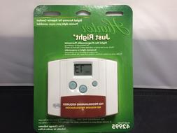 Hunter Just Right 42995 Digital Non-Programmable Thermostat