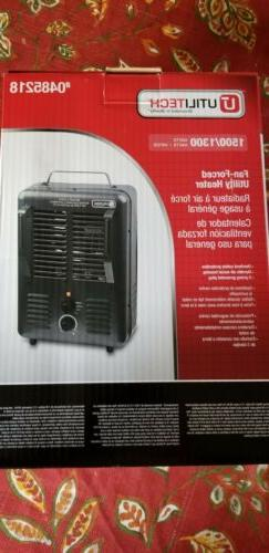 1300-Watt 1500-Watt Portable Utility Fan space  Heater with
