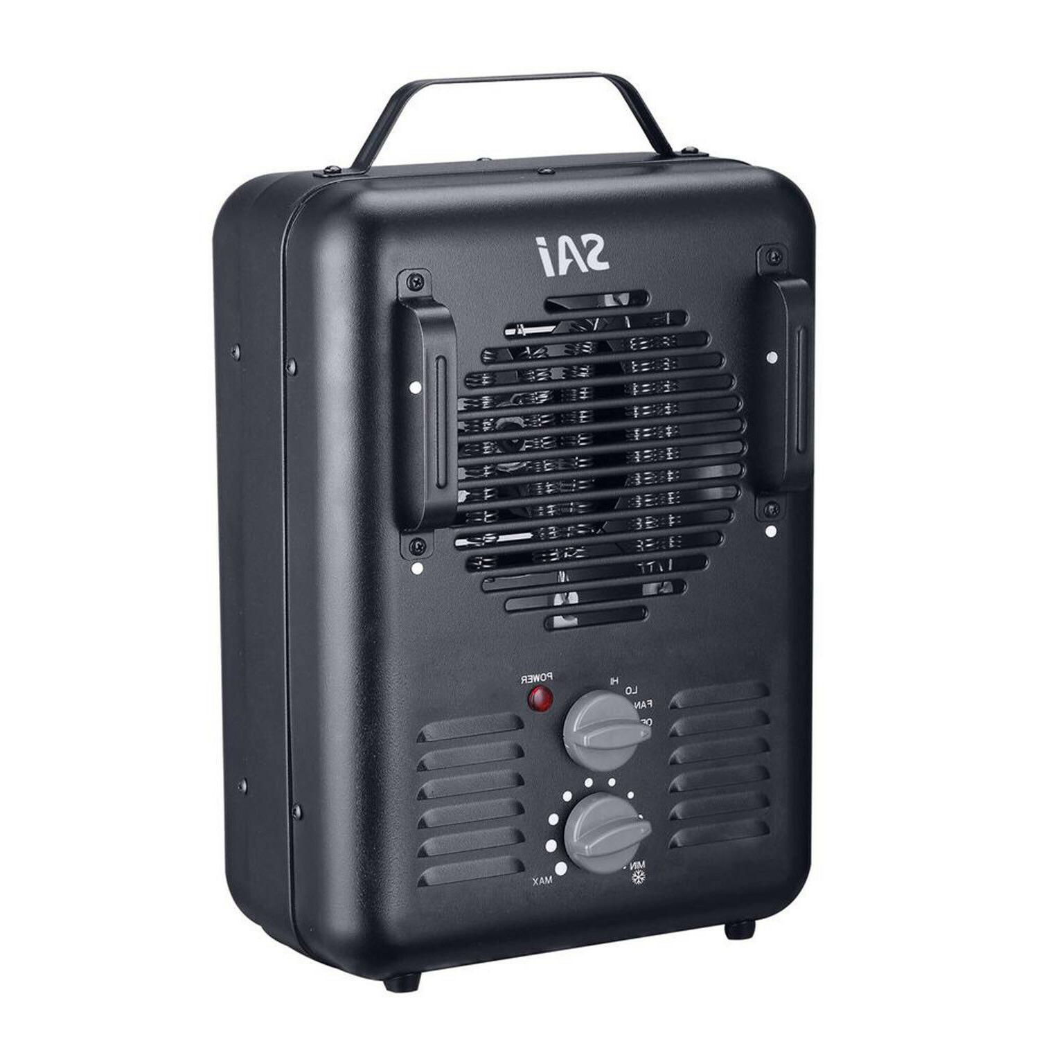 1500w portable electric utility heater thermostat home