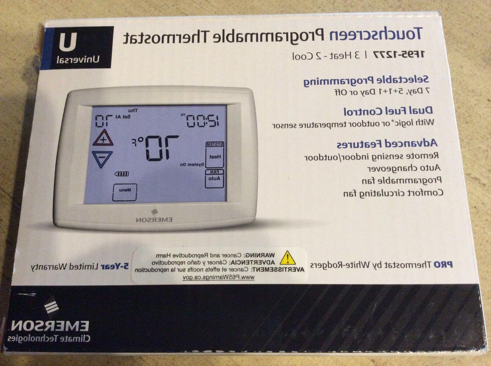 emerson 7 day programmable thermostat