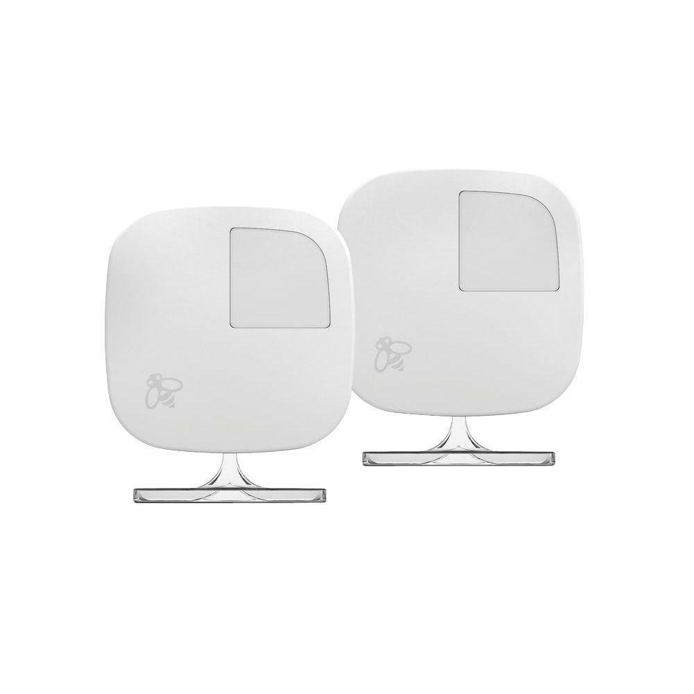 2 pack room sensors with stands