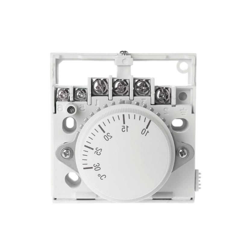220V Mechanical Room <font><b>Thermostat</b></font> Controller Air Condition and Floor Boiler Heating