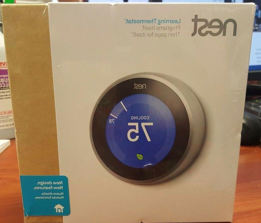 3rd gen learning thermostat