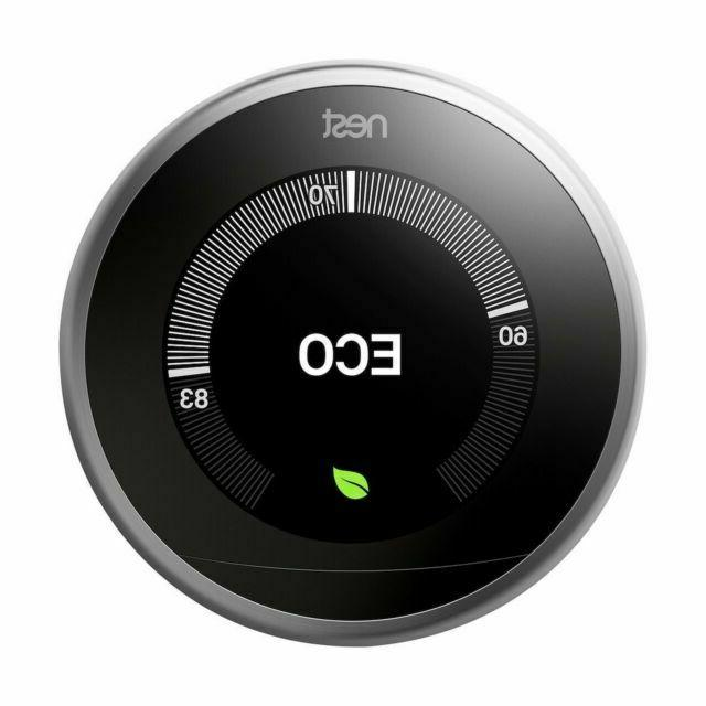 learning thermostat 1st 2nd 3rd e generation