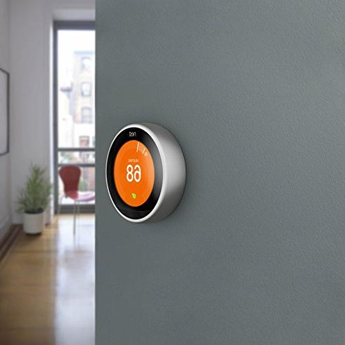 Nest Thermostat with 1 Year Extended Warranty