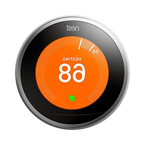 Nest 3rd Generation Thermostat with 1 Extended