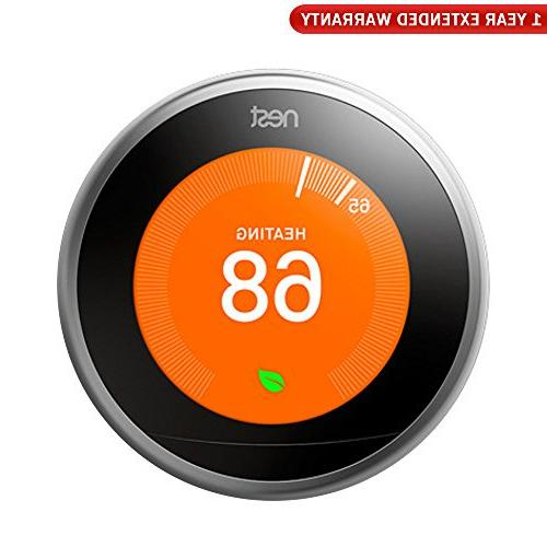 3rd generation learning thermostat