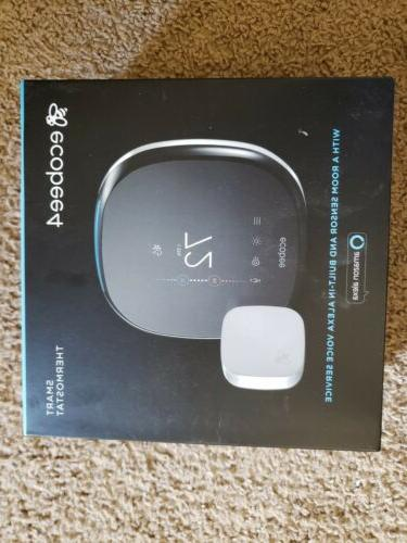 4 alexa enabled smart thermostat with room