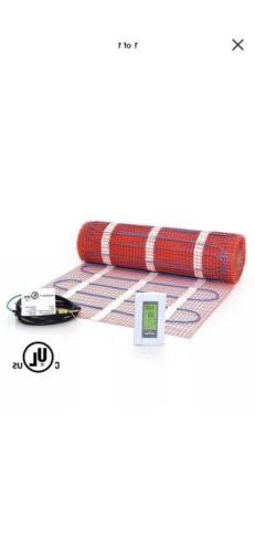 40 sqft Mat Kit, 120V Electric Radiant Floor Heat Heating Sy