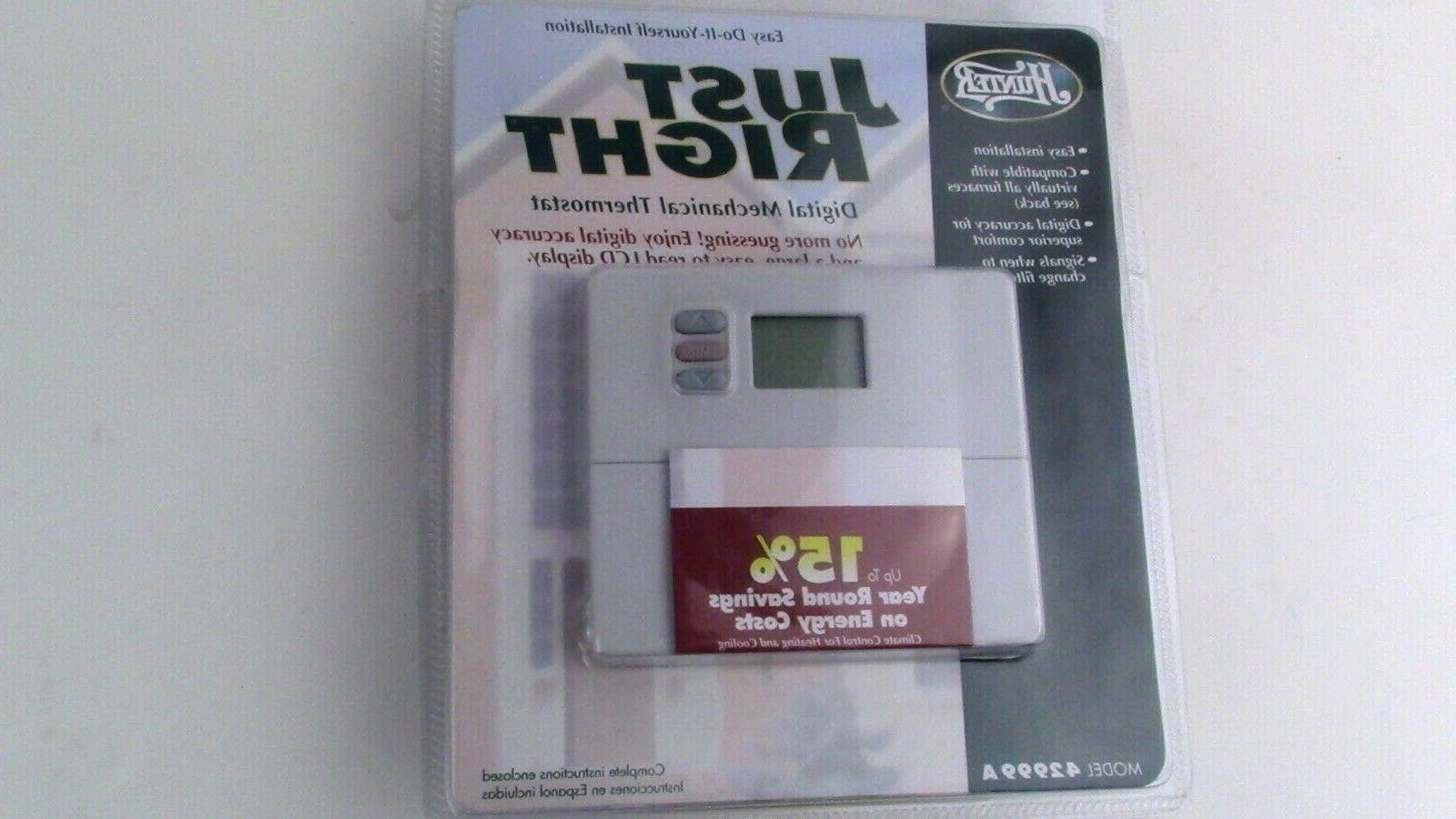 42999 just right thermostat