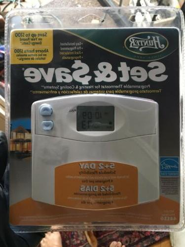 44110 set and save programmable thermostat energy