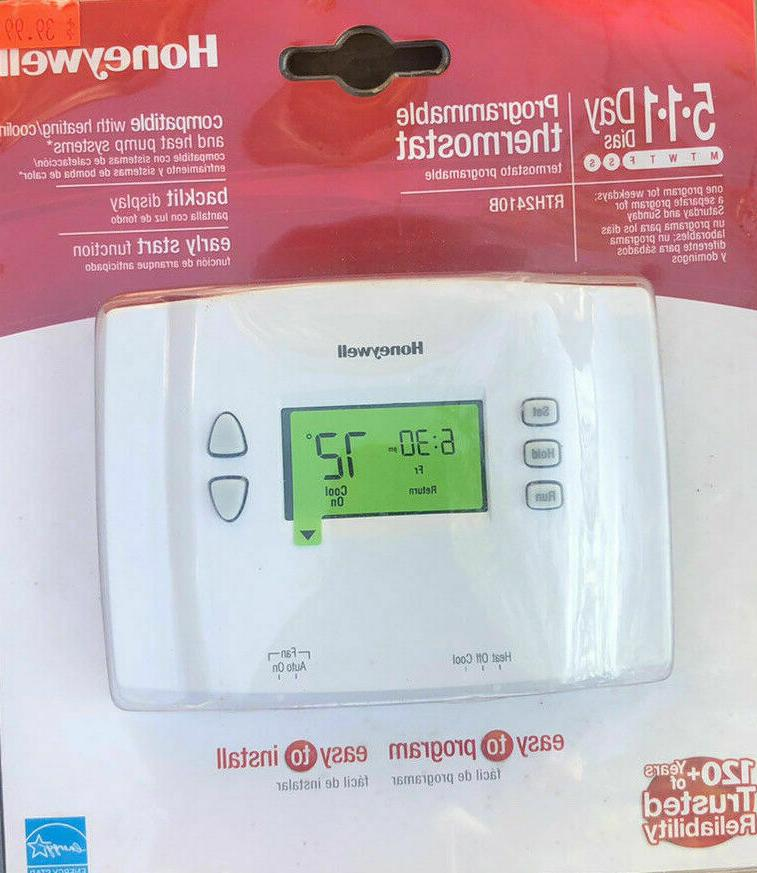 5 1 1 day programmable thermostat