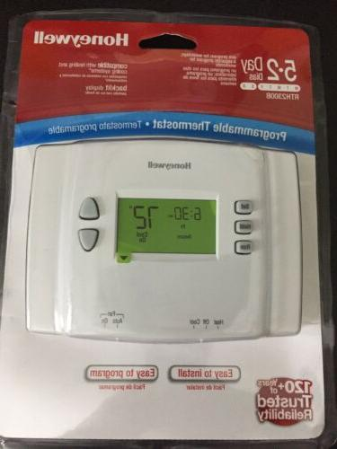 5 2 day programmable thermostat with backlight