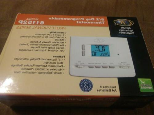 61152p digital 5 2 day programmable thermostat