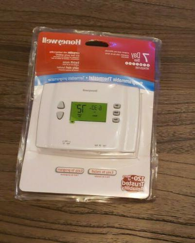 7 day programmable rth2510b thermostat new