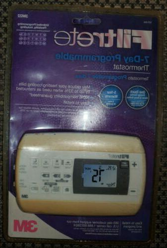 7 day programmable thermostat 3m22