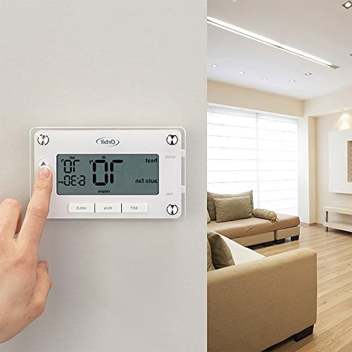 Orbit 83521 Programmable Thermostat Large, Easy-to-Read Display