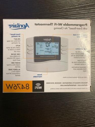 Aprilaire Thermostat; W/