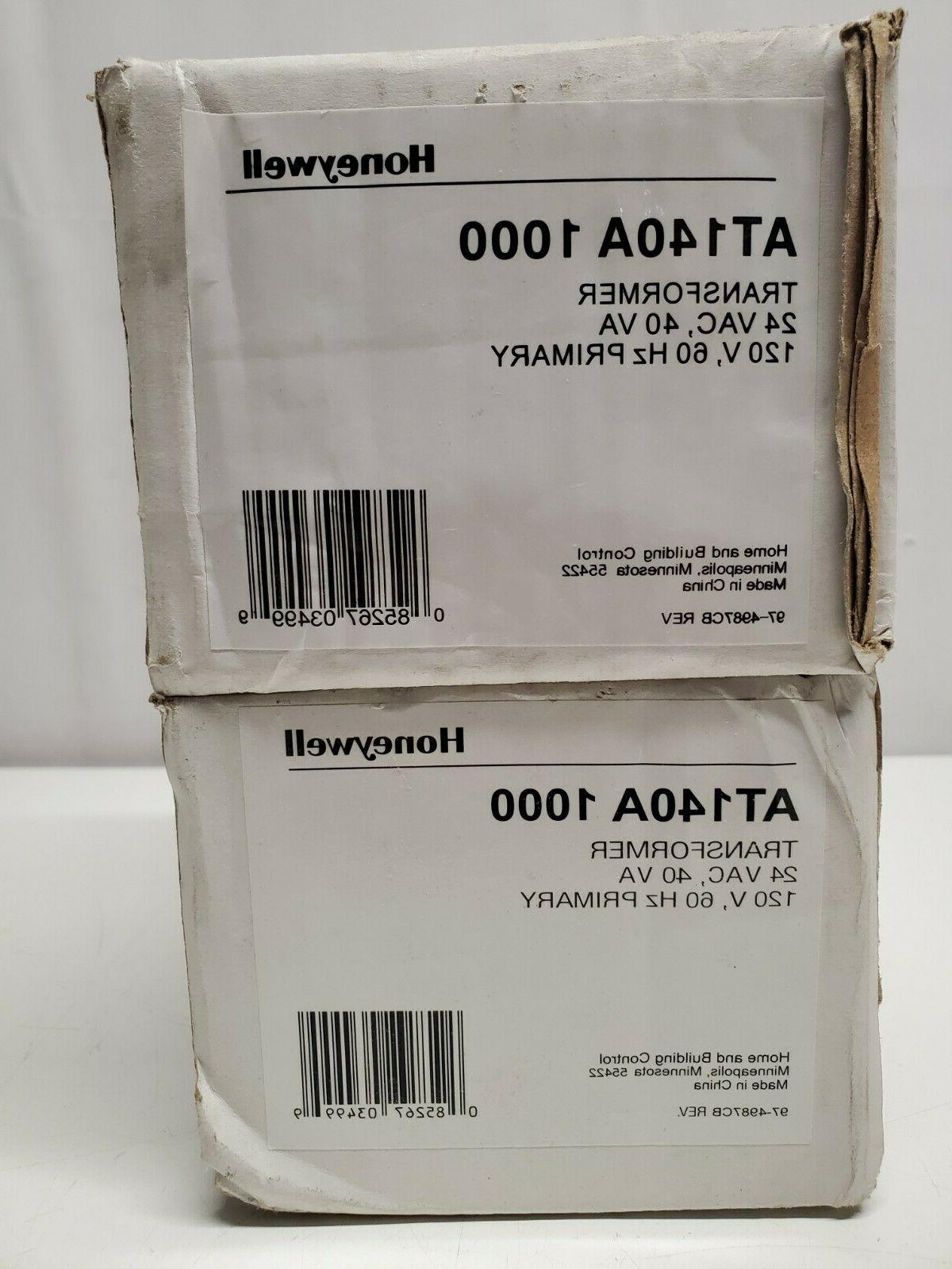Honeywell AT140A1000 40Va, 120V Transformer - 60 Hz.