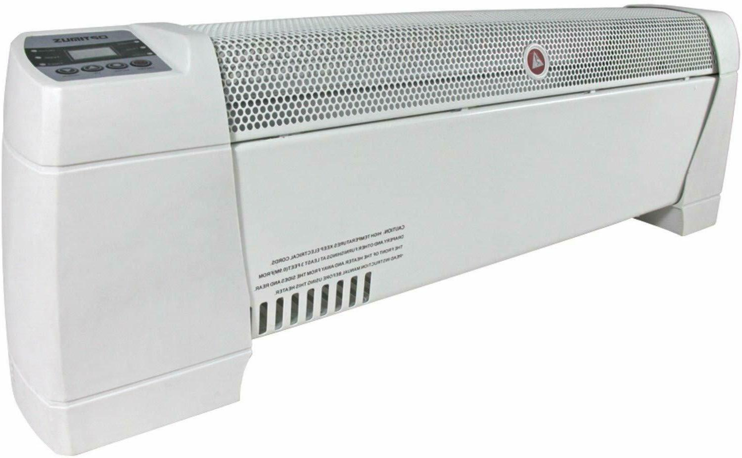 Optimus H-3603 30-Inch Baseboard Convection Heater with Digi