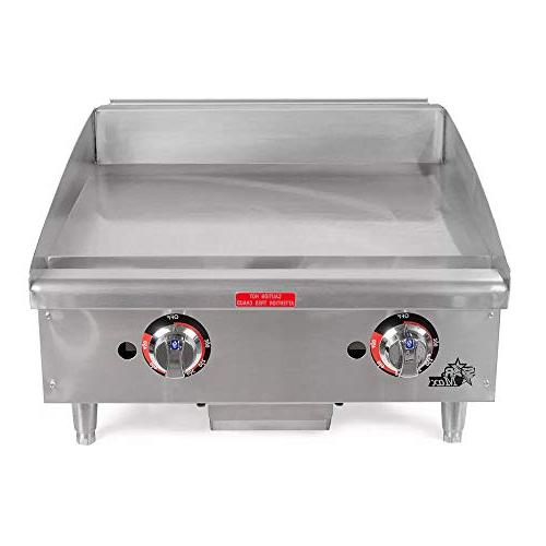 """Star - 636TF - Star-Max 36"""" Thermostatic Control Gas Griddle"""