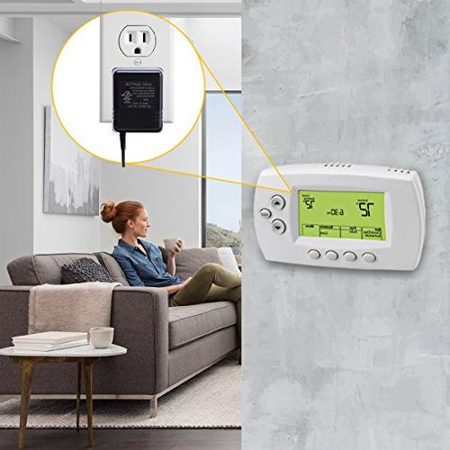 AC24V C-Wire Adapter,LAMMU 24V for Requires C-Wire Smart Ecobee4