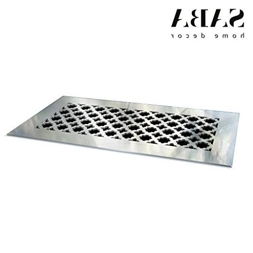 """SABA Air Grille 8"""" 4"""" Opening Mirror Register and not for Floor Venetian"""
