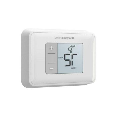 brand new horizontal non programmable thermostat