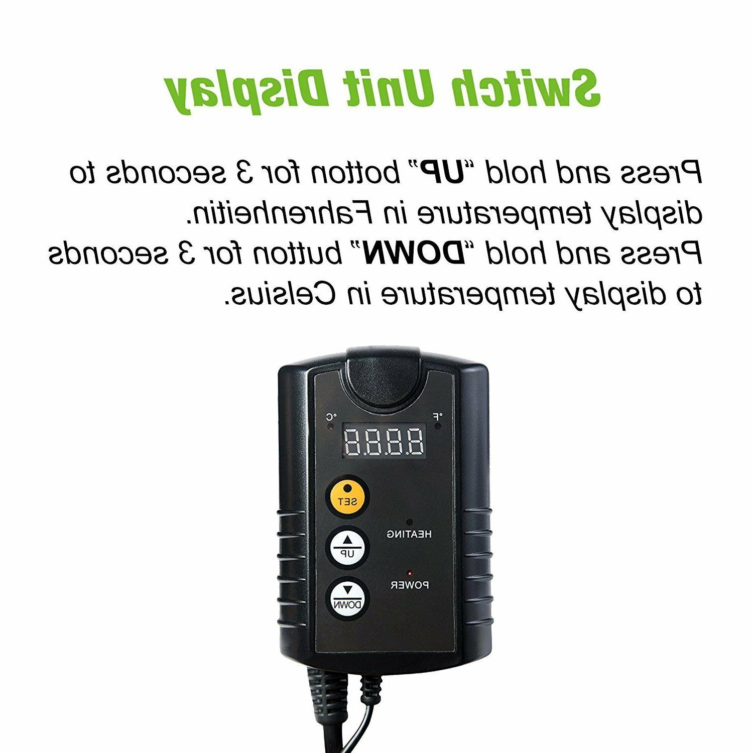 Century Digital Thermostat for Mat Seed 110V