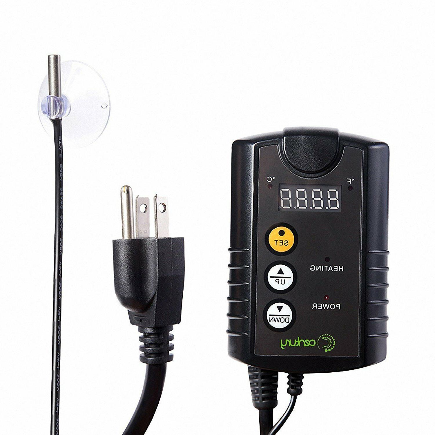 century digital temperature controller thermostat outlet