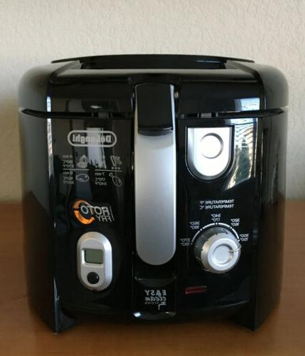 cool touch electric deep fryer