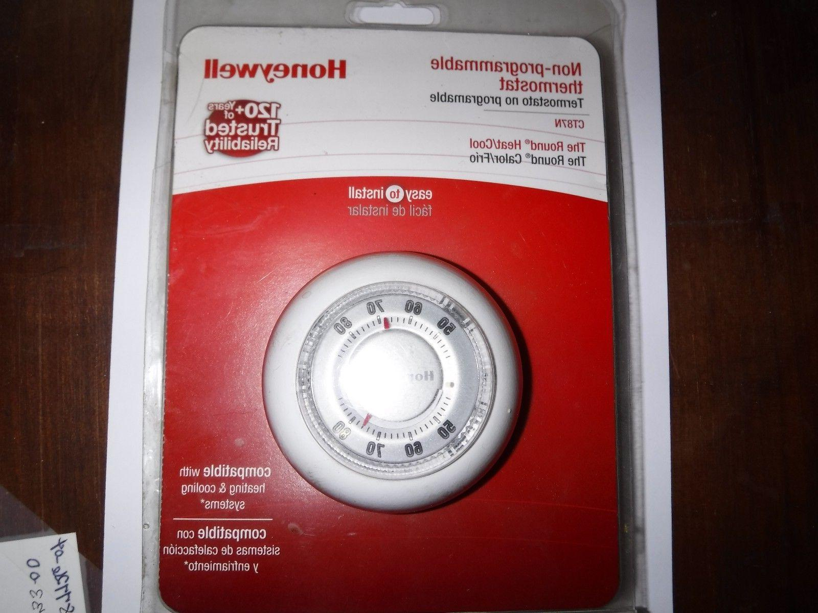 ct87n basic non programmable manual round thermostat