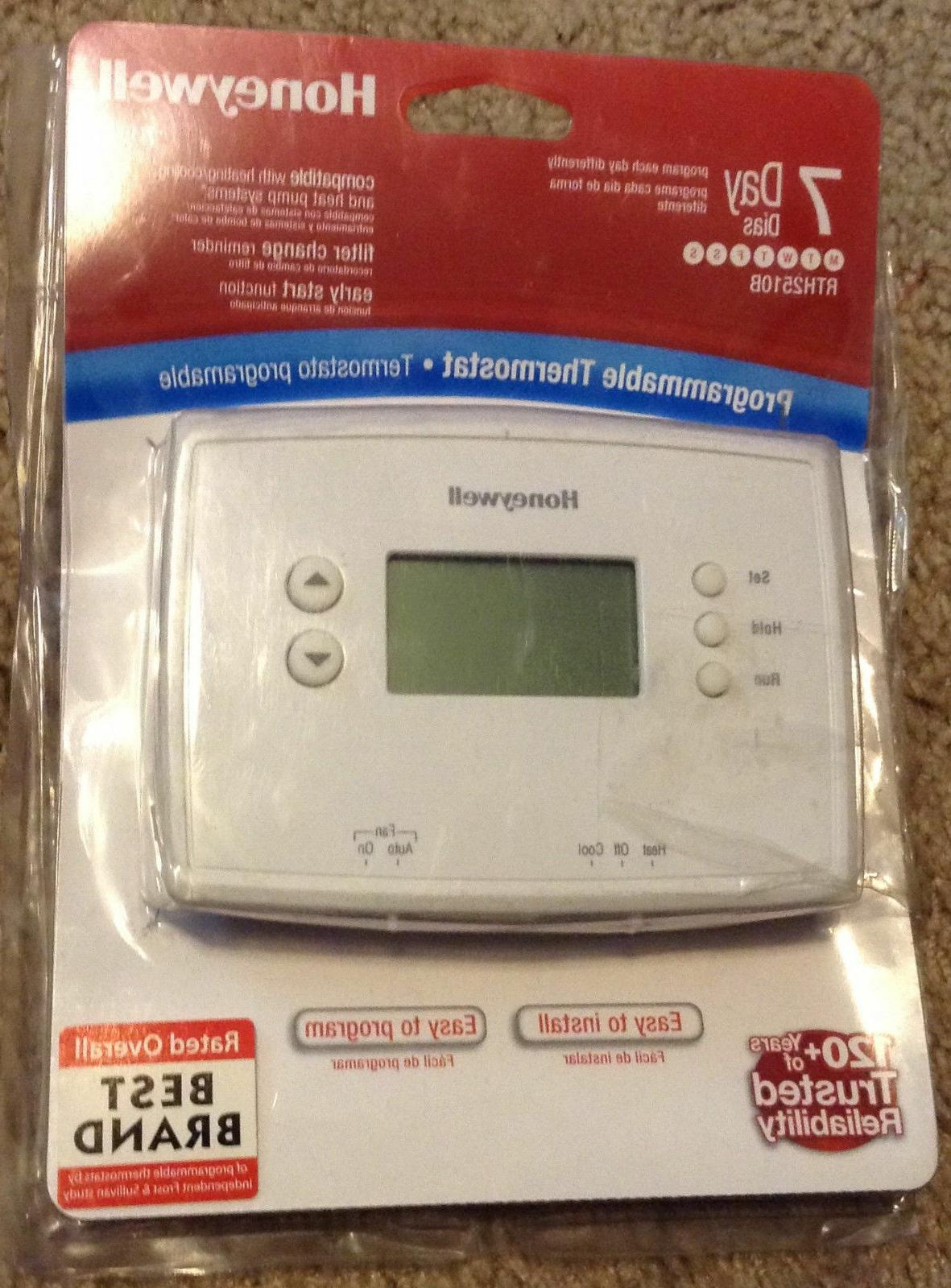 digital 7 day programmable thermostat new open