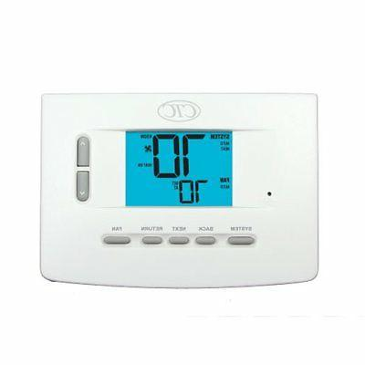 digital home furnace ac wall thermostat 1h