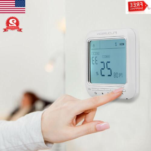digital lcd temperature controller smart thermostat switch