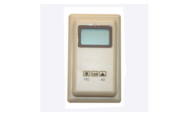 digital wall thermostat wired thermostat or manual