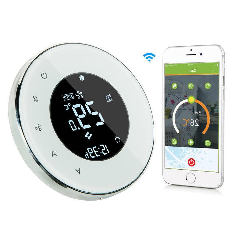 digital wifi smart touch screen electric heating