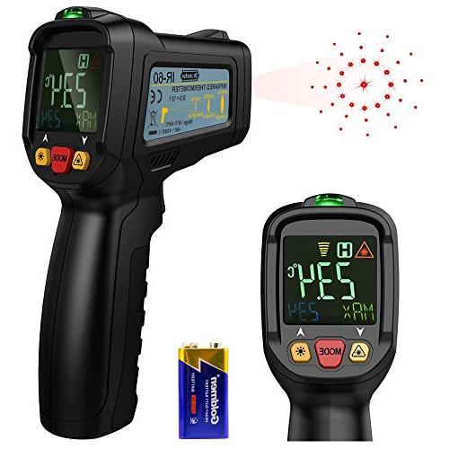 drmeter non contact digital laser infrared thermometer tempe