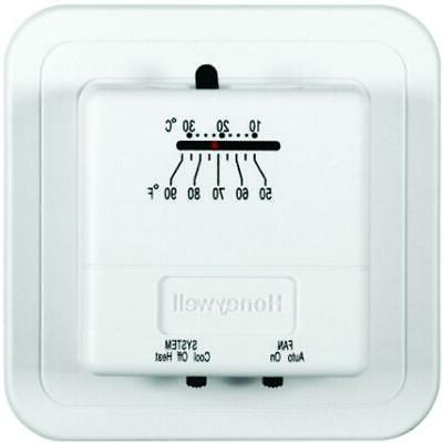 economy heat cool manual thermostat