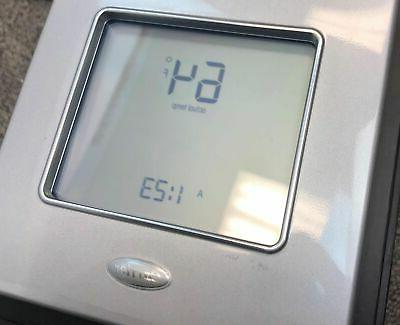 Carrier Edge Programmable Thermostat TP-PRH Silver Screen