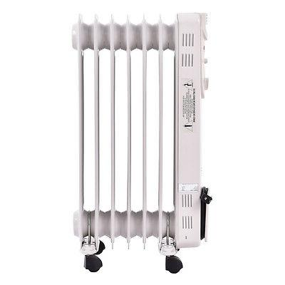 1500W Radiator Space Heater Thermostat Radiant